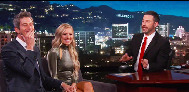 Jimmy Kimmel Drags Arie and Lauren over Quick Engagement & Shocking Finale