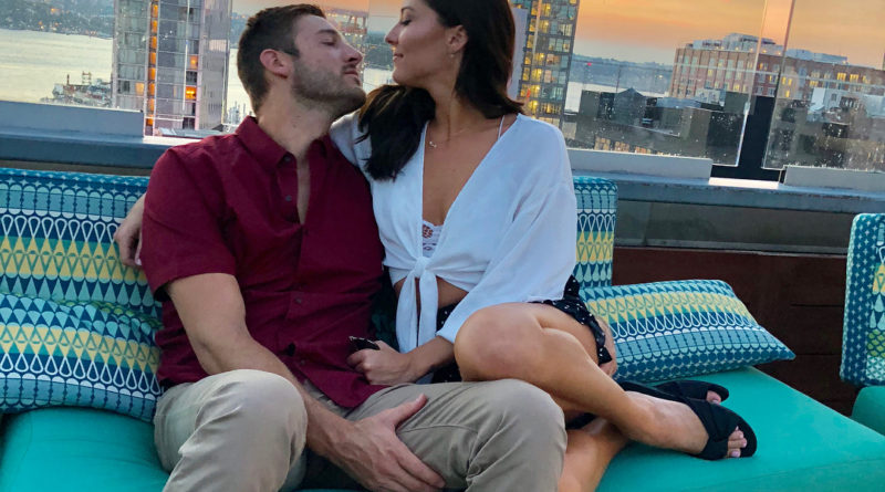 Becca Kufrin and Garrett's Social Media Love