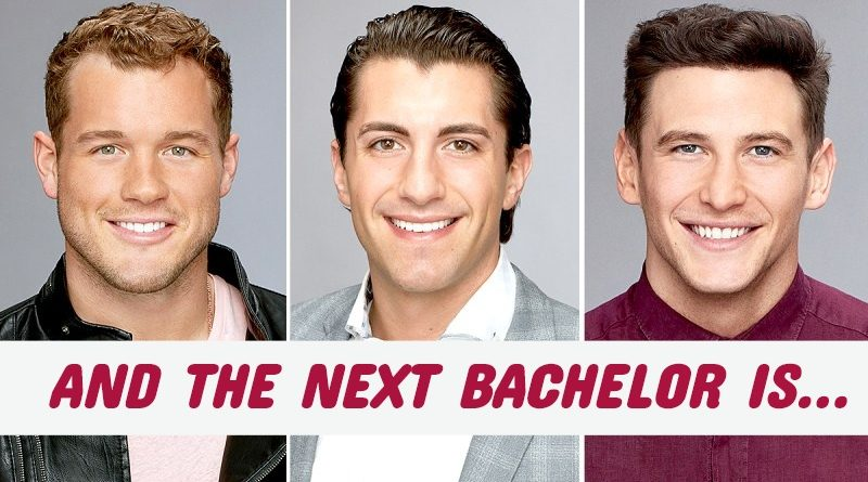 AND THE NEXT BACHELOR IS…
