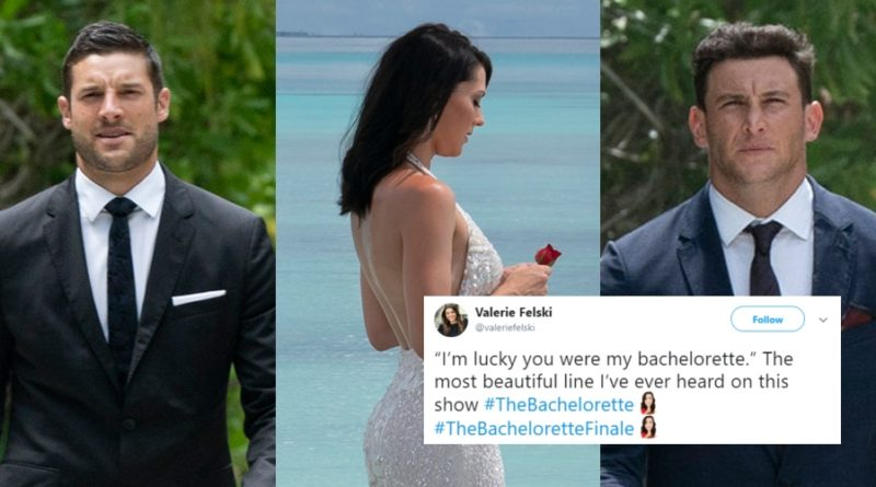 Twitter Reactions From The Bachelorette Season Finale